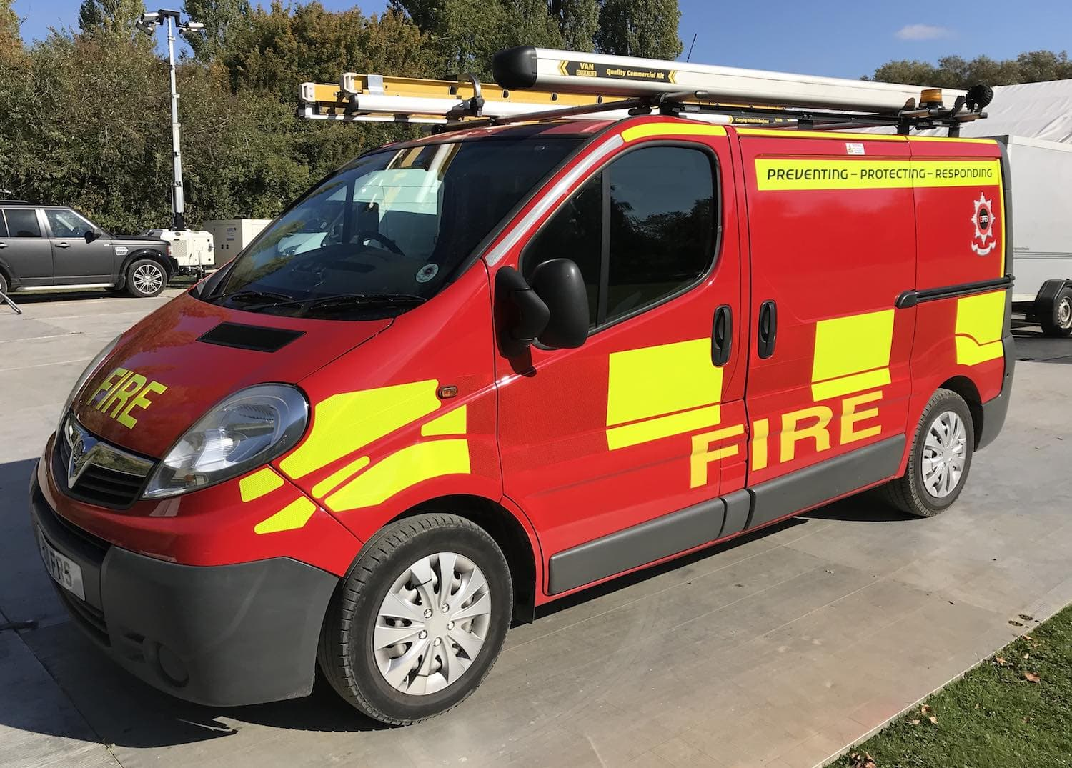 Technical Support Unit Sharp Fire and Rescue Service