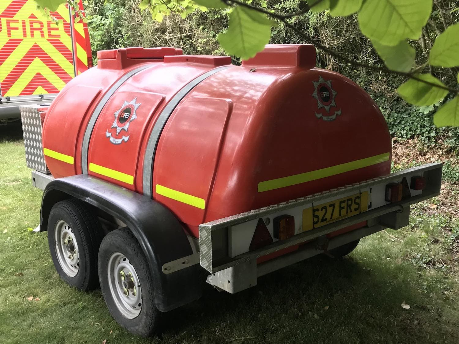 Water Bowser Sharp Fire and Rescue Service