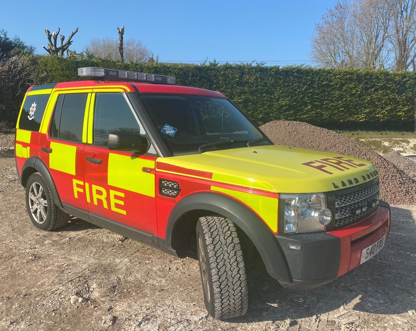 Command Support Vehicle Sharp Fire and Rescue Service 1