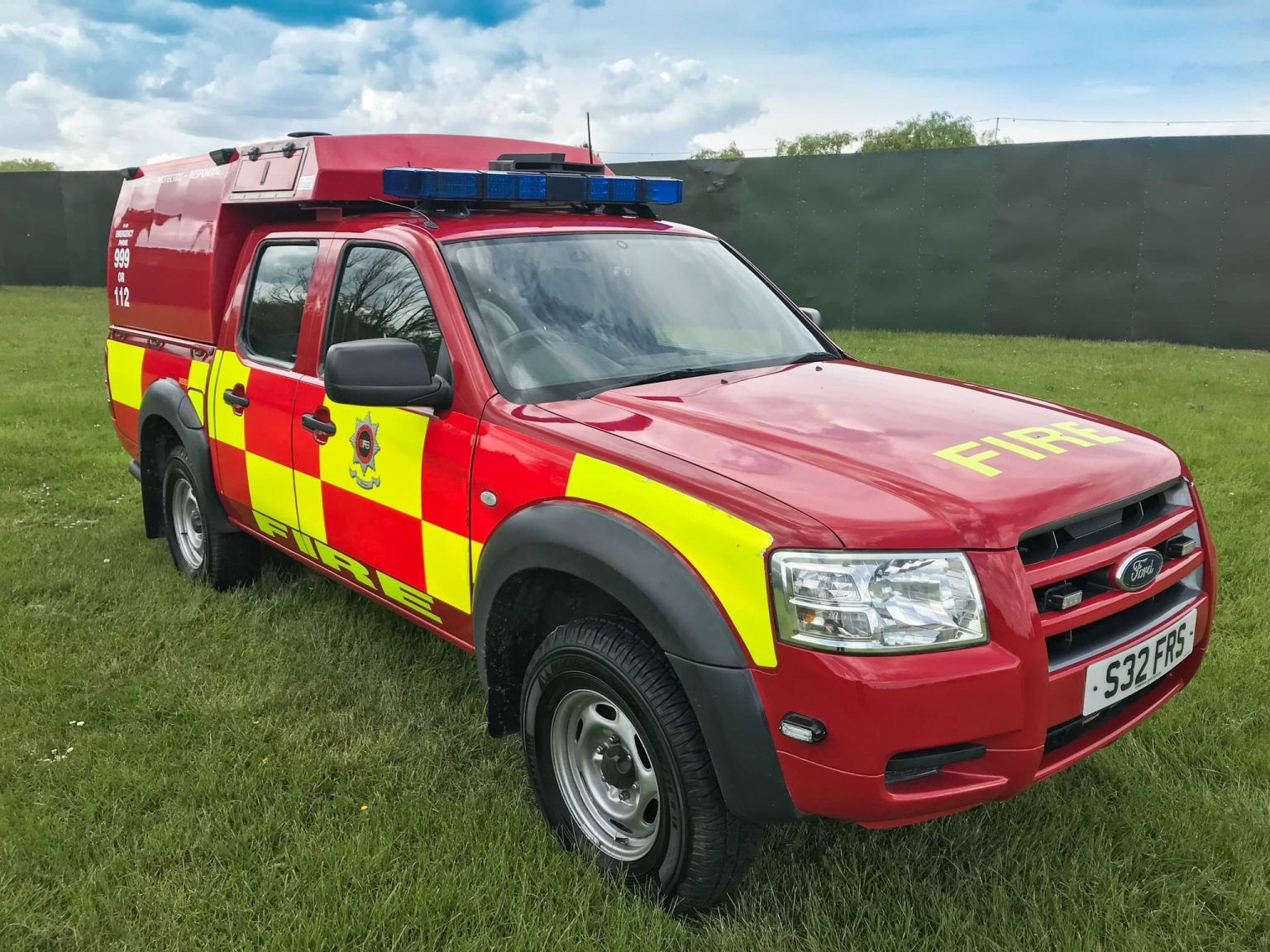 Rapid Intervention Vehicle Sharp Fire and Rescue Service