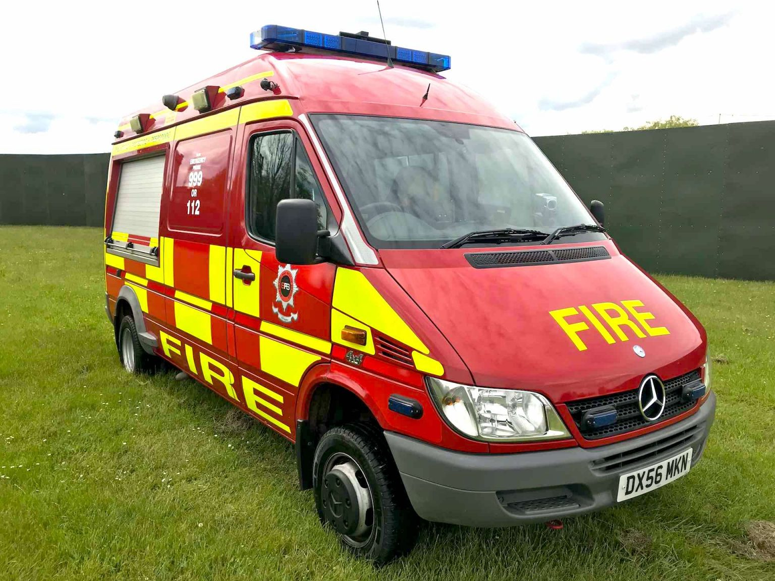 Targeted Response Vehicle Sharp Fire and Rescue Service